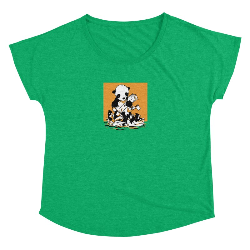 Gonna Need a Bigger Boat Women's Dolman Scoop Neck by Chris Williams' Artist Shop