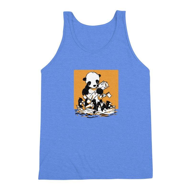 Gonna Need a Bigger Boat Men's Triblend Tank by Chris Williams' Artist Shop