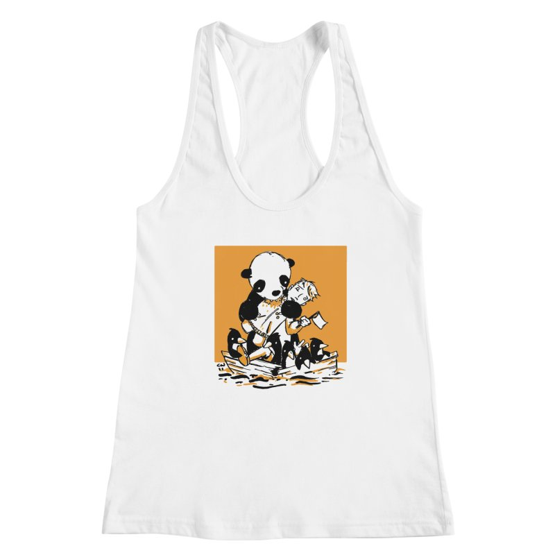 Gonna Need a Bigger Boat Women's Racerback Tank by Chris Williams' Artist Shop