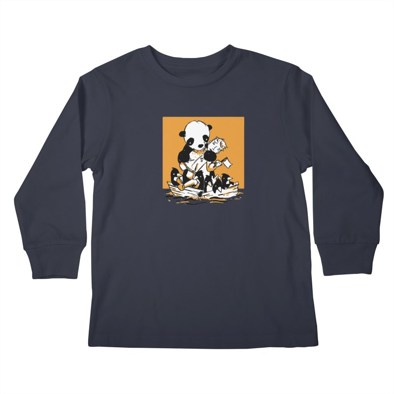 Gonna Need a Bigger Boat Kids Longsleeve T-Shirt by Chris Williams' Artist Shop