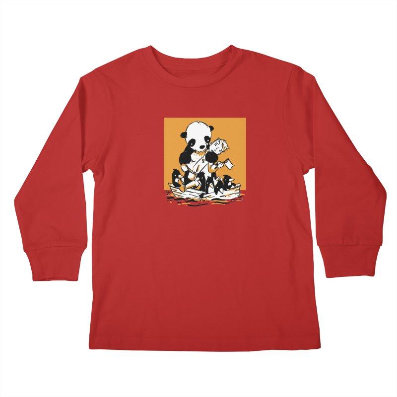 Gonna Need a Bigger Boat Kids Longsleeve T-Shirt by Chris Williams' Artist Shop
