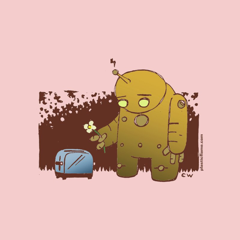 Sad Robot Men's Tank by Chris Williams' Artist Shop