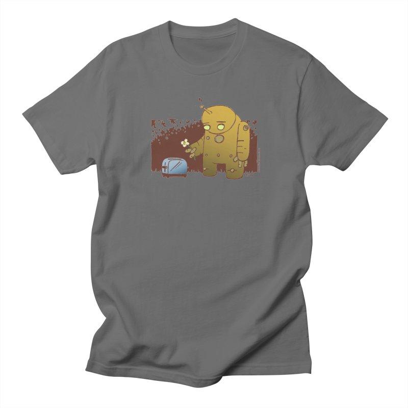 Sad Robot Men's T-Shirt by Chris Williams' Artist Shop