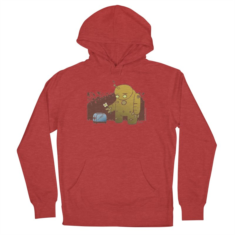 Sad Robot Women's Pullover Hoody by Chris Williams' Artist Shop