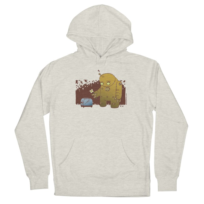 Sad Robot Men's Pullover Hoody by Chris Williams' Artist Shop