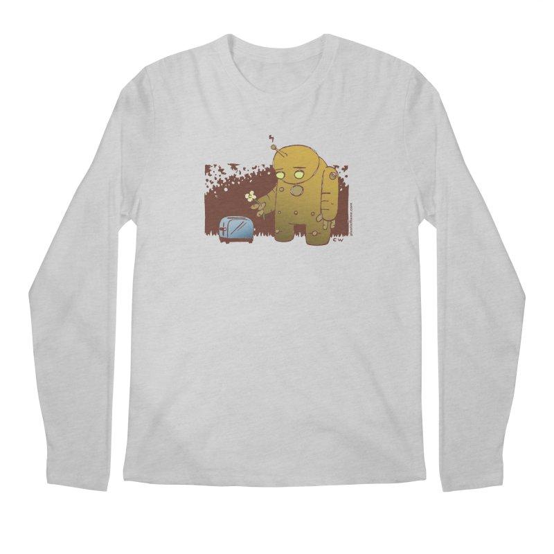 Sad Robot Men's Regular Longsleeve T-Shirt by Chris Williams' Artist Shop