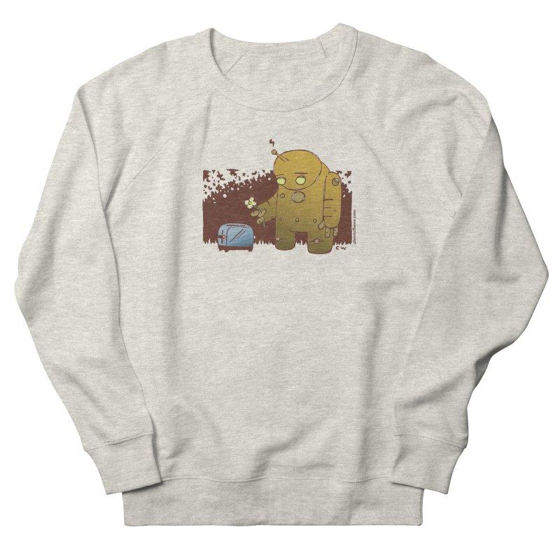Sad Robot Women's French Terry Sweatshirt by Chris Williams' Artist Shop