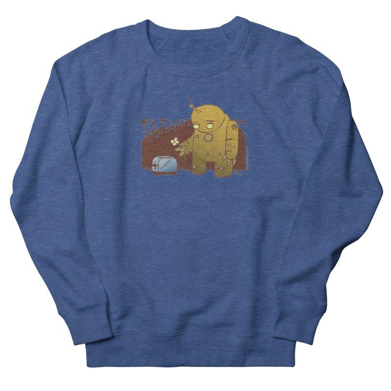 Sad Robot Men's Sweatshirt by Chris Williams' Artist Shop