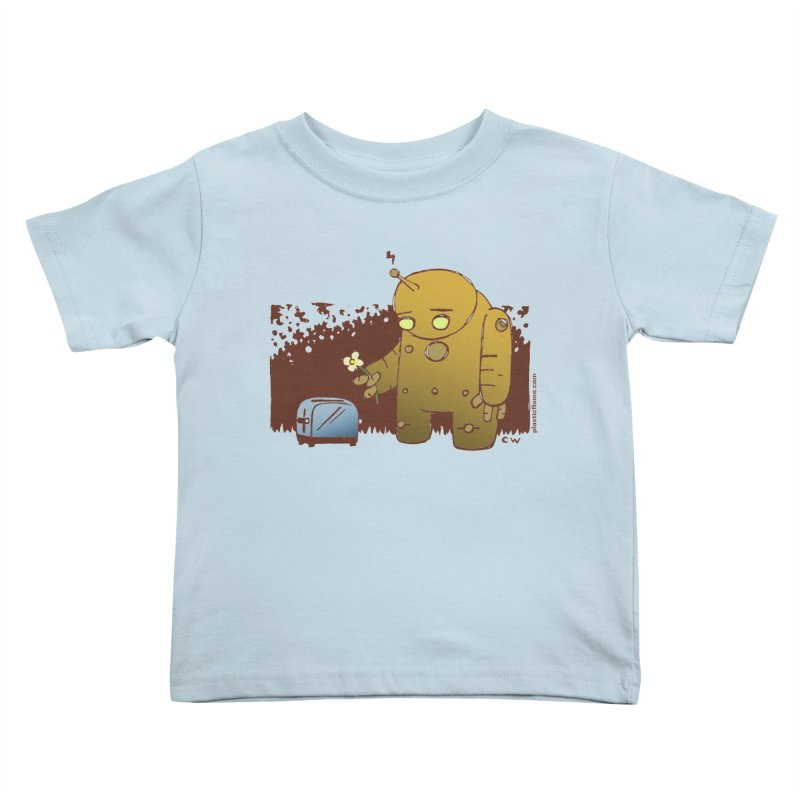 Sad Robot Kids Toddler T-Shirt by Chris Williams' Artist Shop