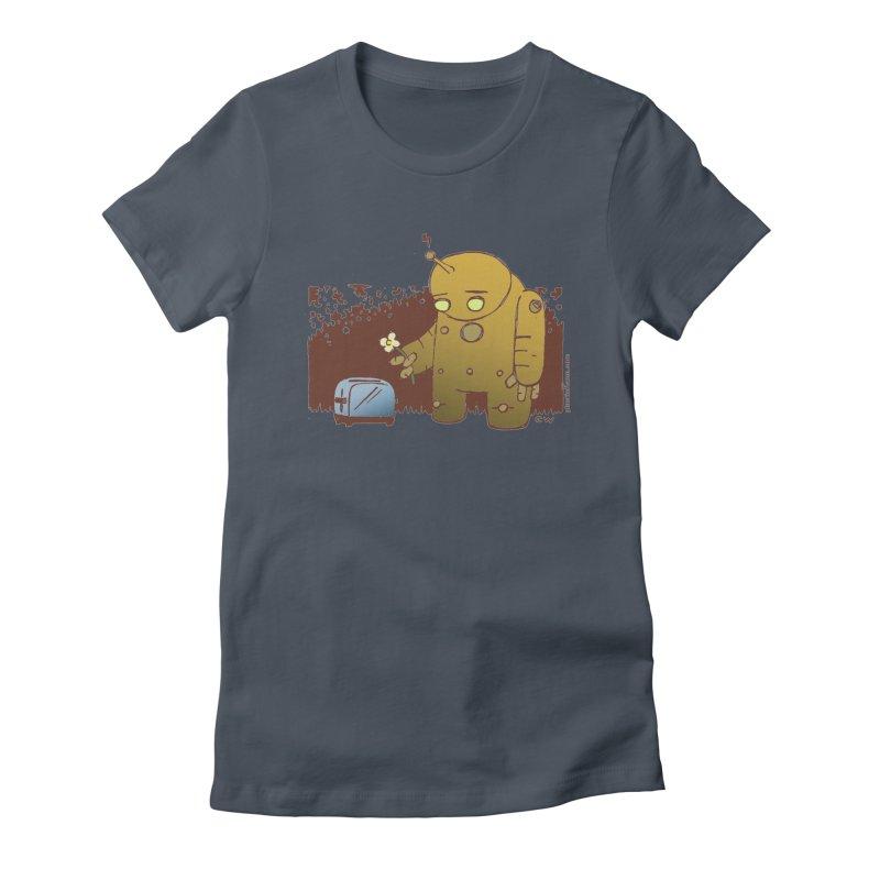Sad Robot Women's T-Shirt by Chris Williams' Artist Shop