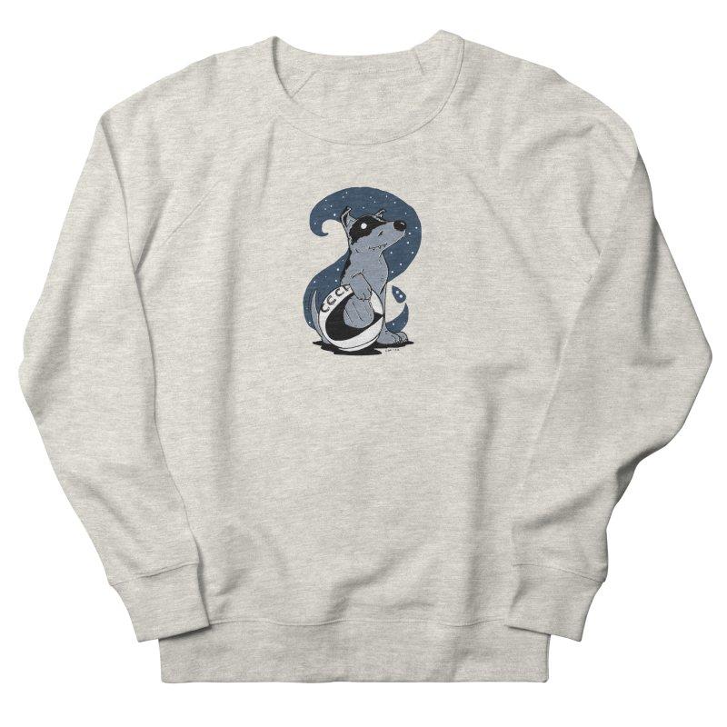 Laika, Spacedog Women's French Terry Sweatshirt by Chris Williams' Artist Shop