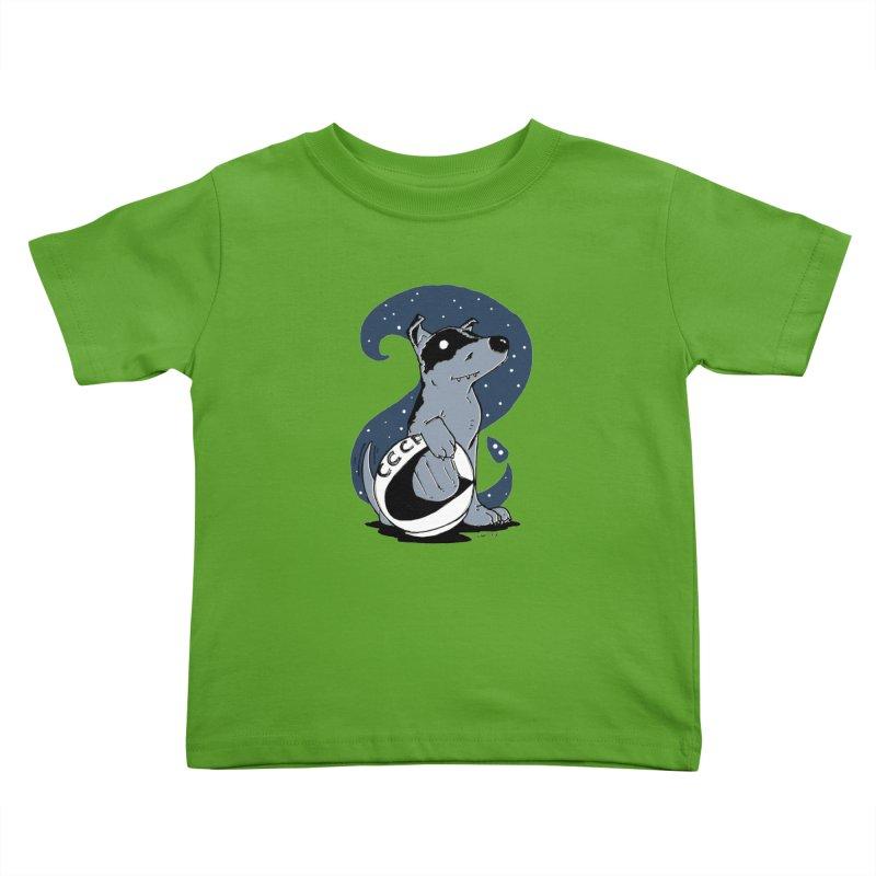Laika, Spacedog Kids Toddler T-Shirt by Chris Williams' Artist Shop