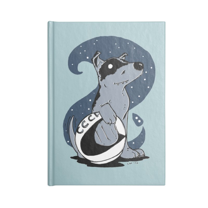 Laika, Spacedog Accessories Notebook by Chris Williams' Artist Shop