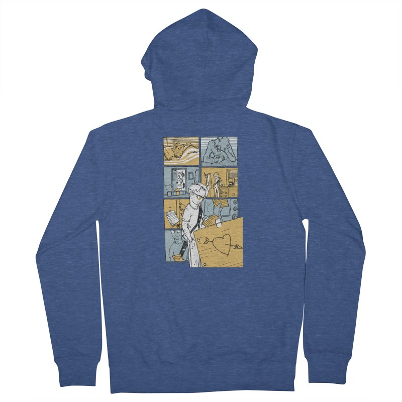 In the Morning Women's French Terry Zip-Up Hoody by Chris Williams' Artist Shop