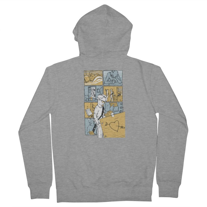 In the Morning Men's Zip-Up Hoody by Chris Williams' Artist Shop