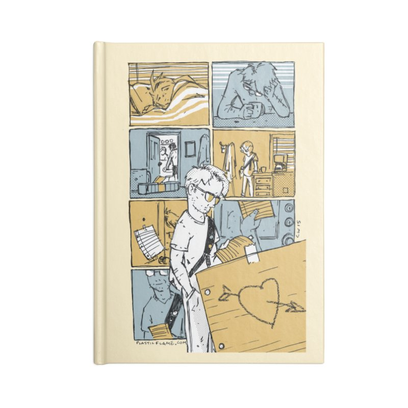 In the Morning Accessories Notebook by Chris Williams' Artist Shop