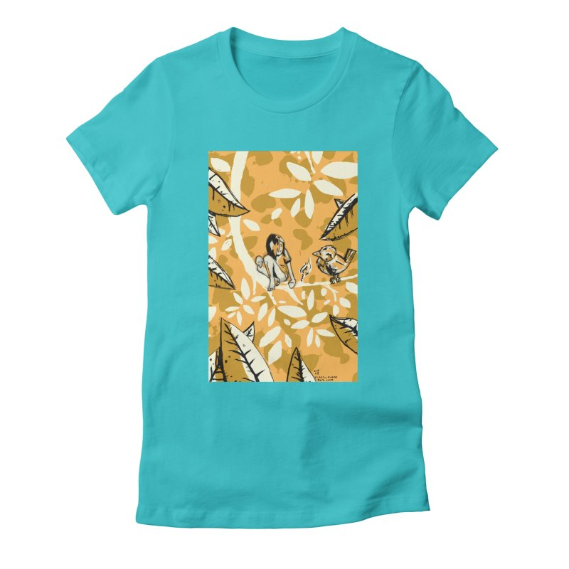 Little Spark Women's Fitted T-Shirt by Chris Williams' Artist Shop