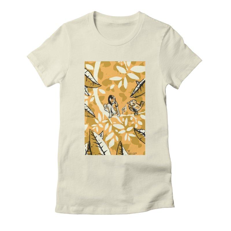 Little Spark Women's Fitted T-Shirt by Chris Williams' Artist Shop