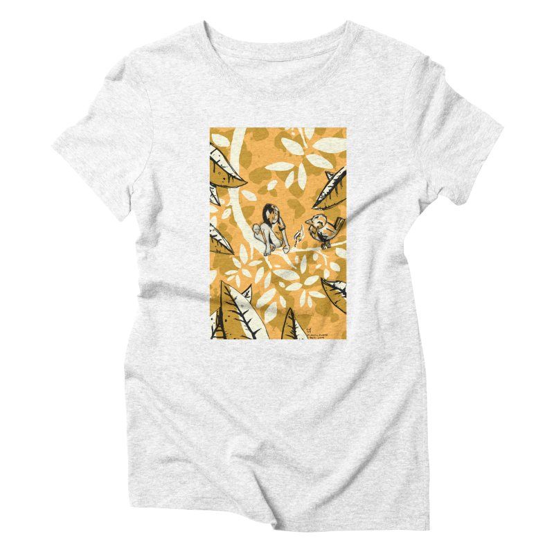 Little Spark Women's Triblend T-shirt by Chris Williams' Artist Shop