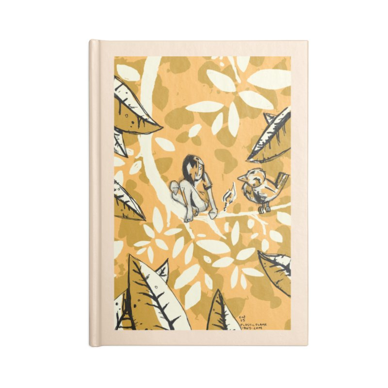 Little Spark Accessories Lined Journal Notebook by Chris Williams' Artist Shop