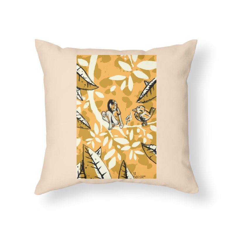 Little Spark Home Throw Pillow by Chris Williams' Artist Shop