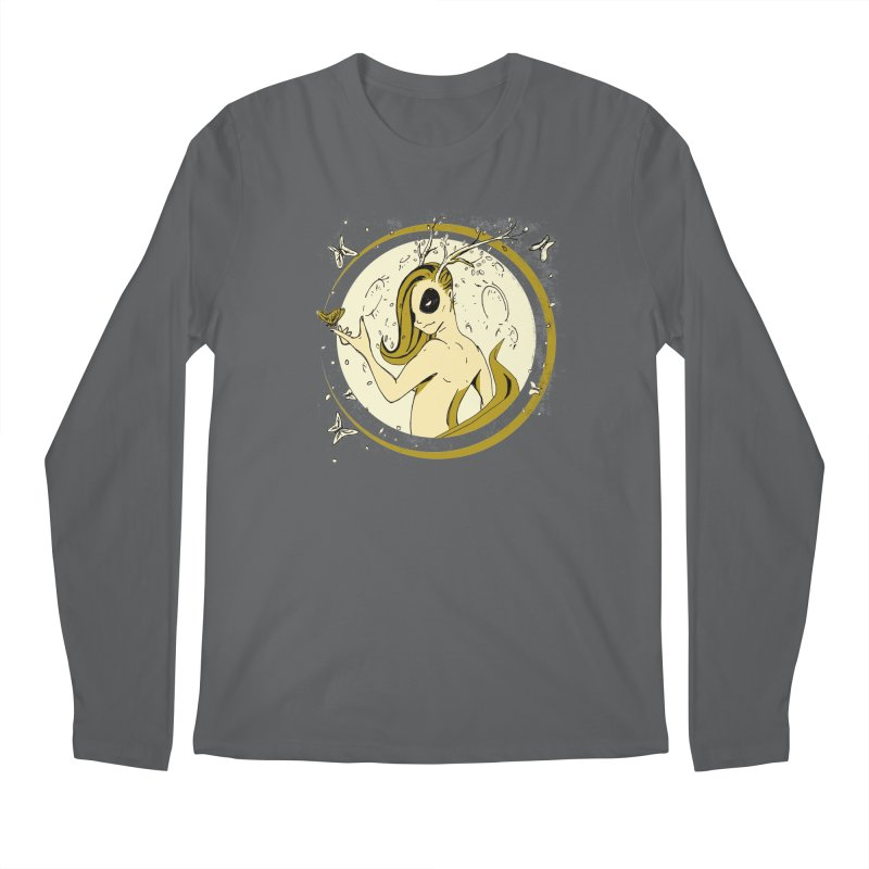 Nymph by the Moon Men's Regular Longsleeve T-Shirt by Chris Williams' Artist Shop