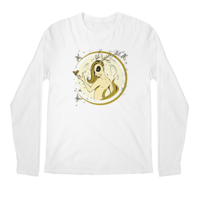 Nymph by the Moon Men's Longsleeve T-Shirt by Chris Williams' Artist Shop