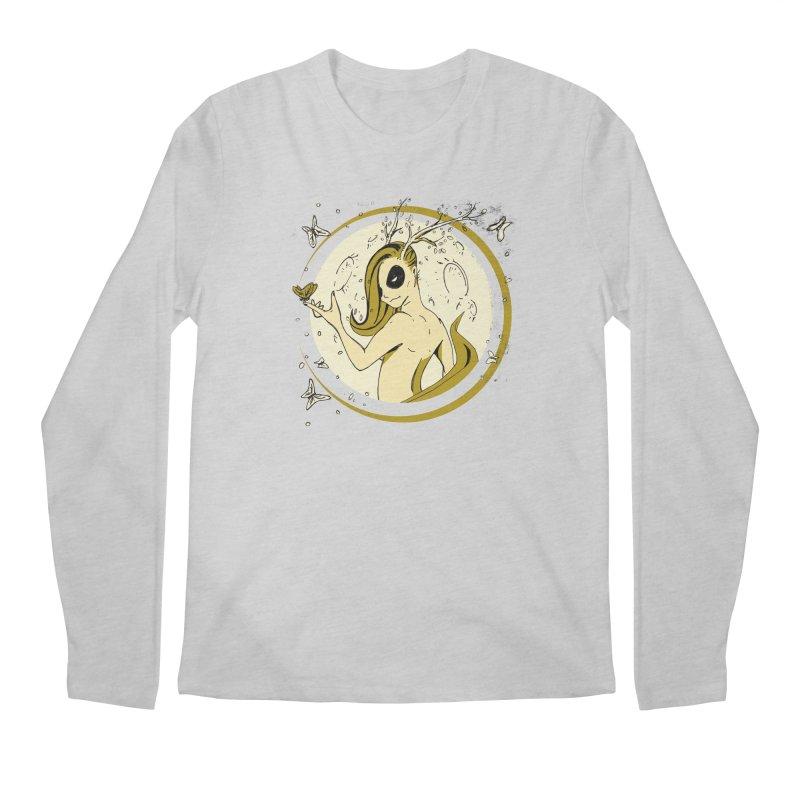 Nymph by the Moon Men's Regular Longsleeve T-Shirt by Chris Williams' Artist Shop