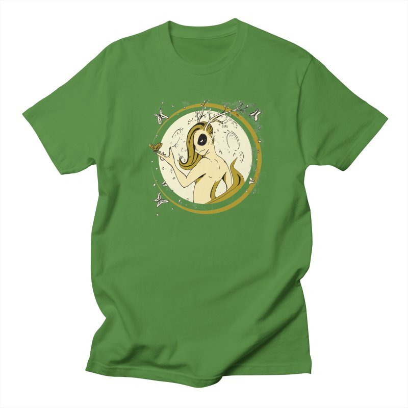 Nymph by the Moon Men's T-Shirt by Chris Williams' Artist Shop