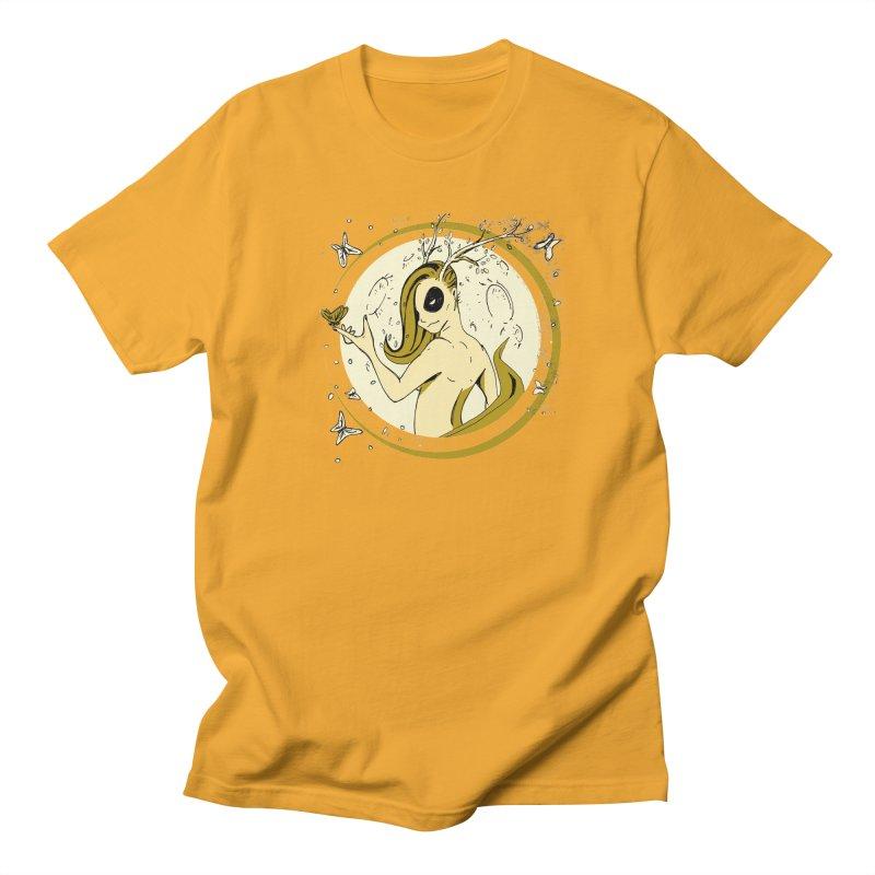 Nymph by the Moon Men's Regular T-Shirt by Chris Williams' Artist Shop