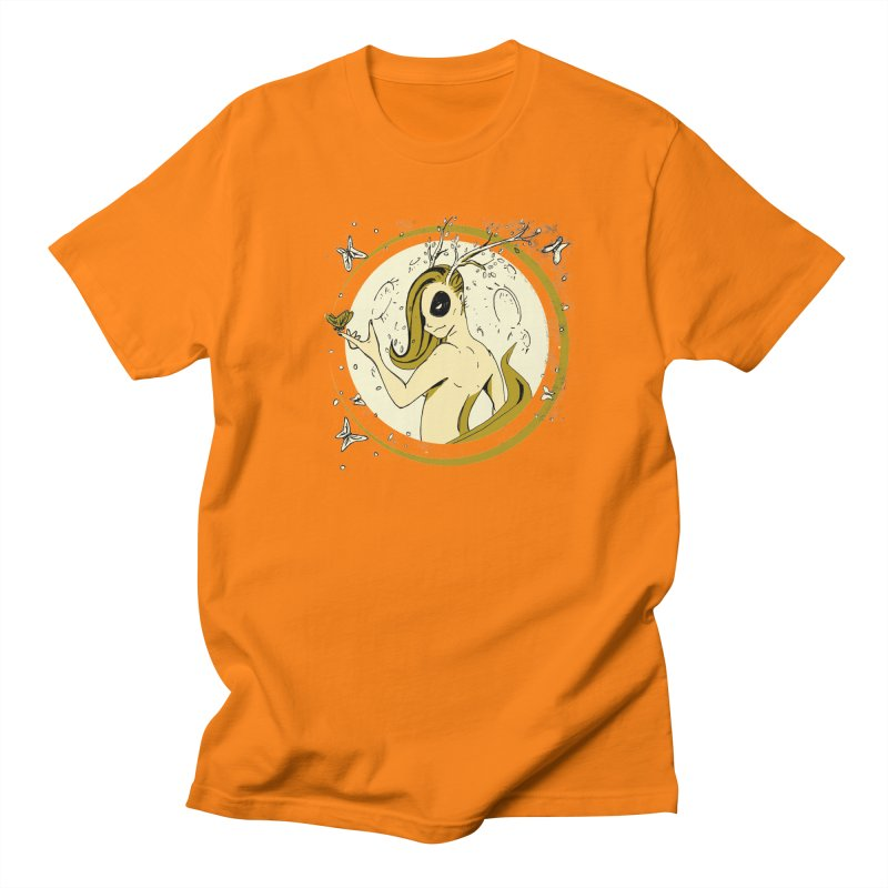 Nymph by the Moon Men's Regular T-Shirt by Chris Williams' Artist Shop