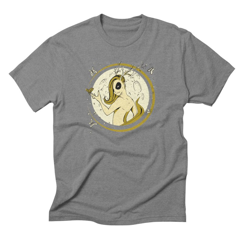 Nymph by the Moon Men's Triblend T-Shirt by Chris Williams' Artist Shop