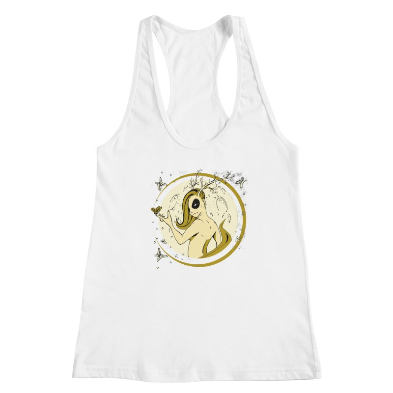 Nymph by the Moon Women's Tank by Chris Williams' Artist Shop