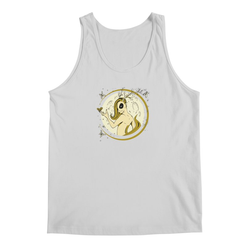 Nymph by the Moon Men's Tank by Chris Williams' Artist Shop