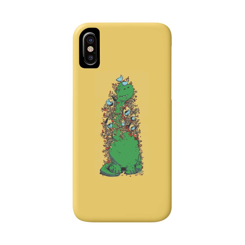 Dino Tree Accessories Phone Case by Chris Williams' Artist Shop