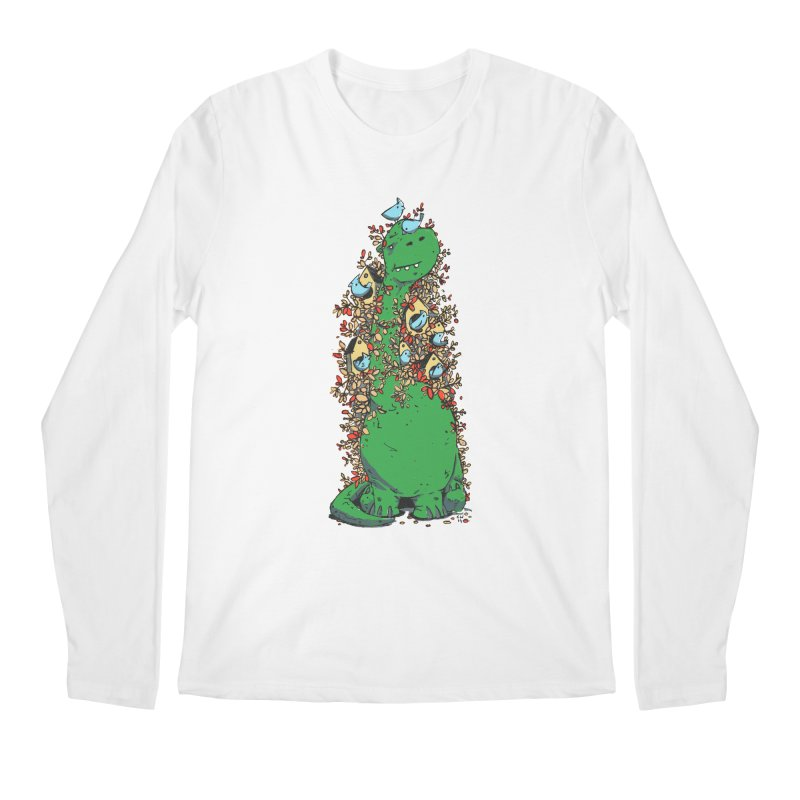 Dino Tree Men's Regular Longsleeve T-Shirt by Chris Williams' Artist Shop