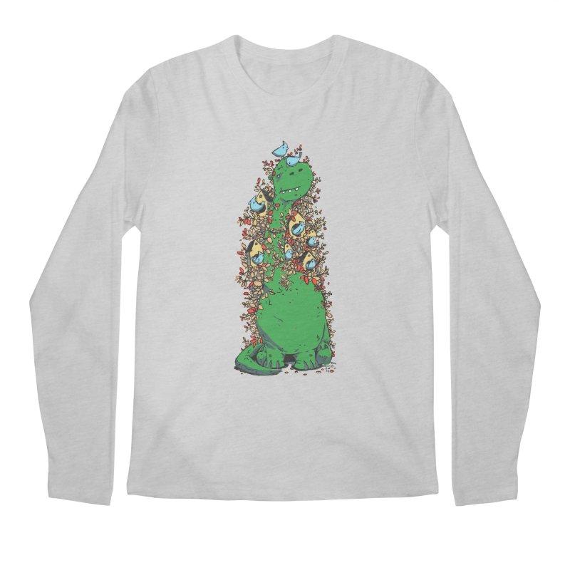 Dino Tree Men's Longsleeve T-Shirt by Chris Williams' Artist Shop