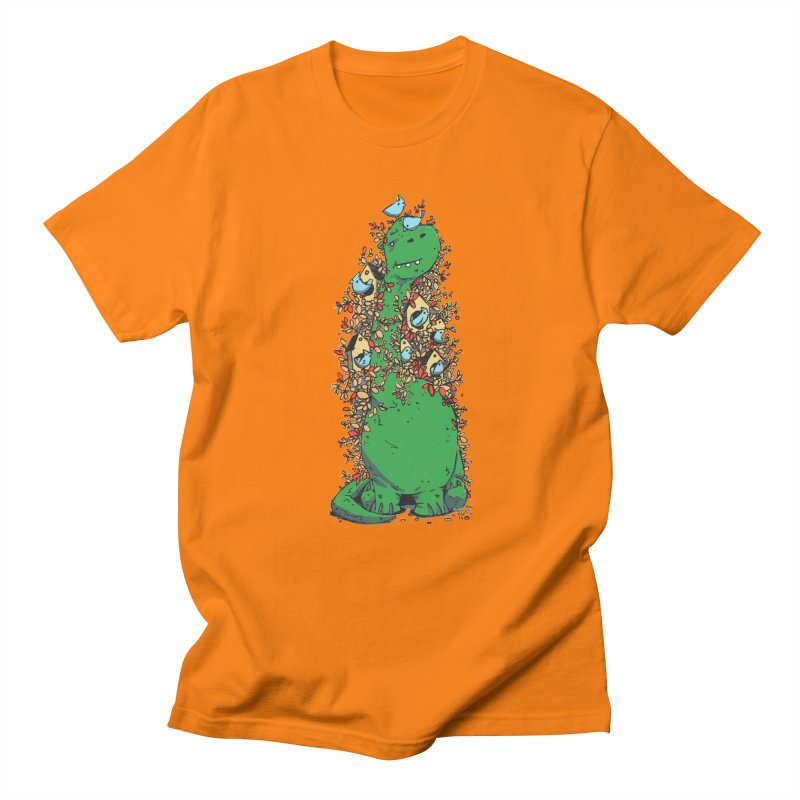 Dino Tree Men's T-Shirt by Chris Williams' Artist Shop