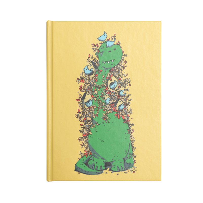 Dino Tree Accessories Notebook by Chris Williams' Artist Shop