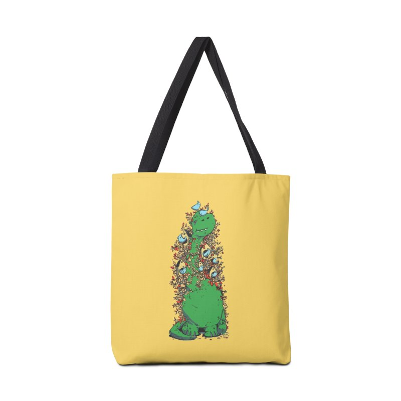 Dino Tree Accessories Bag by Chris Williams' Artist Shop