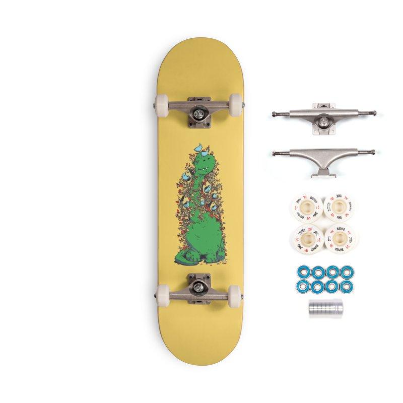 Dino Tree Accessories Complete - Premium Skateboard by Chris Williams' Artist Shop