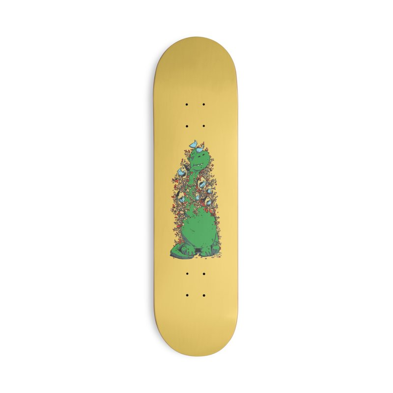 Dino Tree Accessories Deck Only Skateboard by Chris Williams' Artist Shop