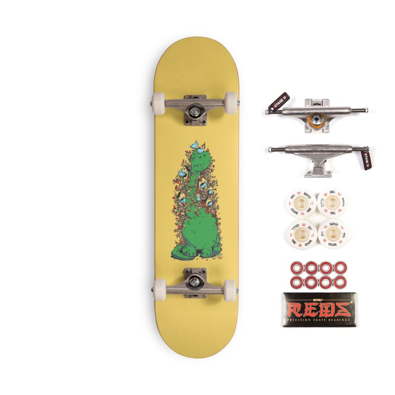 Dino Tree Accessories Complete - Pro Skateboard by Chris Williams' Artist Shop