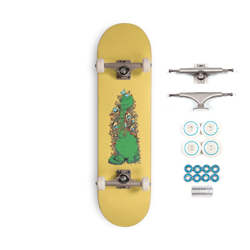 Dino Tree Accessories Complete - Basic Skateboard by Chris Williams' Artist Shop