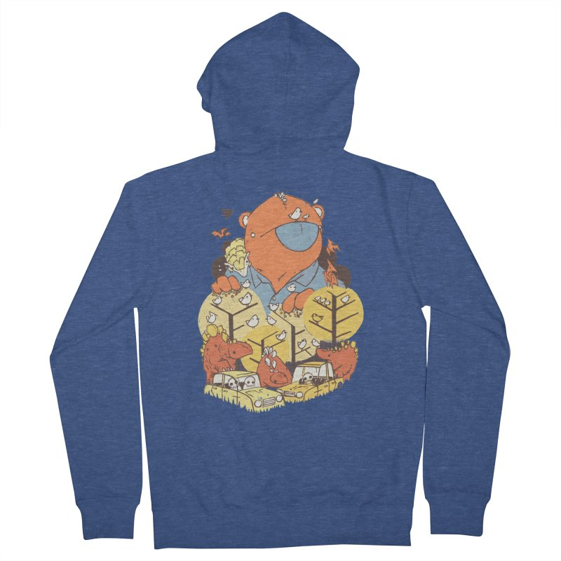 After People Women's Zip-Up Hoody by Chris Williams' Artist Shop