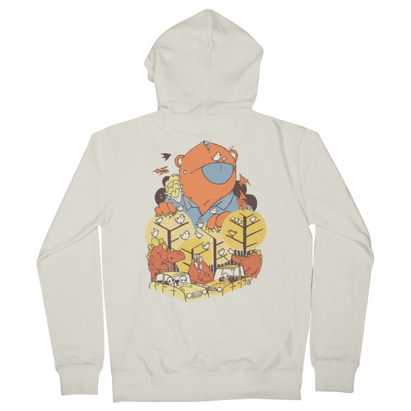 After People Women's French Terry Zip-Up Hoody by Chris Williams' Artist Shop