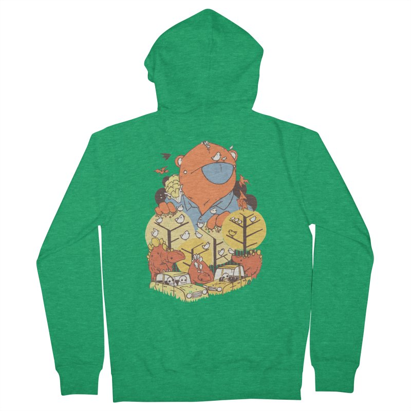 After People Men's Zip-Up Hoody by Chris Williams' Artist Shop