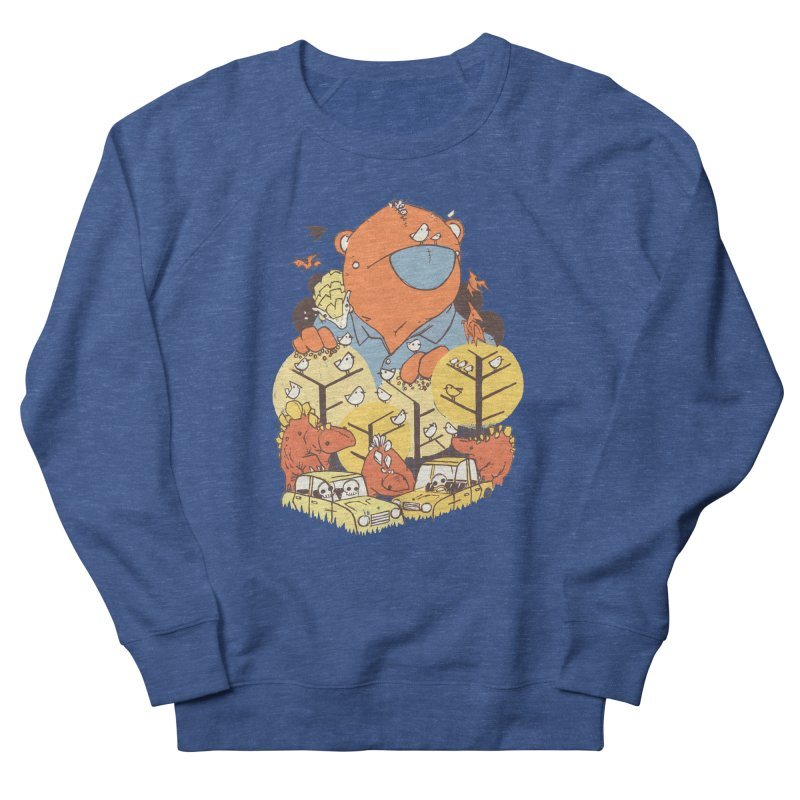 After People Women's French Terry Sweatshirt by Chris Williams' Artist Shop