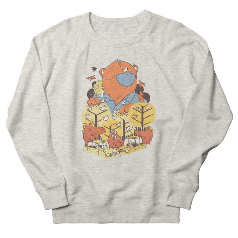 After People Men's French Terry Sweatshirt by Chris Williams' Artist Shop