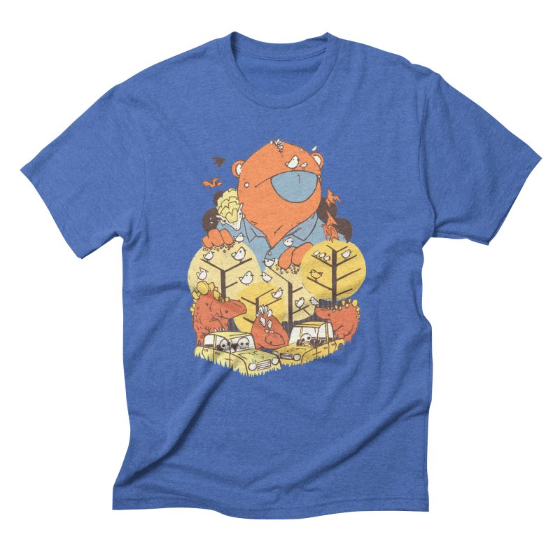 After People Men's Triblend T-Shirt by Chris Williams' Artist Shop